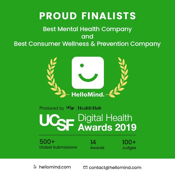 HelloMind i finalen i UCSF award